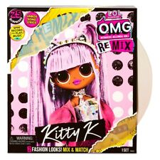 NEW - LOL Surprise OMG Remix Kitty K Fashion Doll 25 Surprises with Music