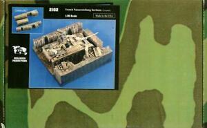 Verlinden 1:35 Trench Panzerstellung Sections Ceramic Diorama Accessory #2102