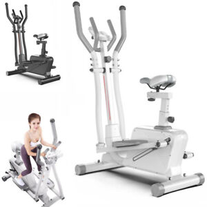 8-Level Adjustable Elliptical Machine Cross Trainer Exercise Stride Bike HomeGym