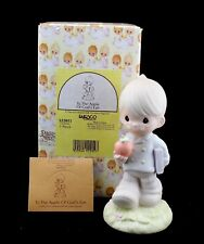 Precious Moments Figurine To The Apple Of God's Eye 522015 Enesco 1993