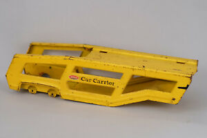 1970-71 Tonka Pressed Steel Car Carrier Trailer Chassis Original Toy Truck Part