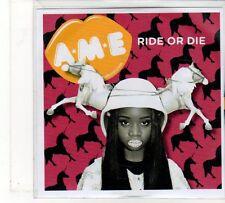 (FU838) AME, Ride Or Die - 2012 DJ CD