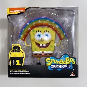 🌈Spongebob Squarepants Masterpiece Meme Collection Imaginaaation Rainbow Figure