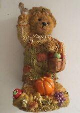 Harvest Bear Figurine