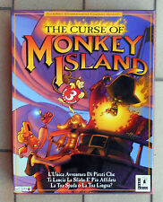 THE CURSE OF MONKEY ISLAND 3 BY C.T.O. LUCASARTS ITALIANO PC BIG BOX