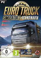 Euro Truck Simulator 2 Scandinavia (Erweiterung) PC NEU OVP