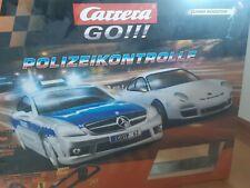 Carrera GO!!! , Polizeikontrolle, 62204, gebraucht