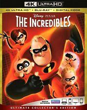 The Incredibles 4K (Blu Ray Ultra Hd, 2-Disc, 2018) No Standard Bluray Copy