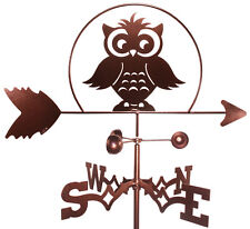 Teachers Owl Weathervane With Garden Mounting