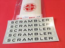 5 Authentic NOS  Schwinn Scrambler decals  03164  (bx11)