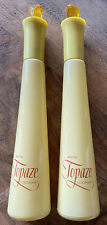 Vintage Avon Topaze Cologne Two Bottles-Yellow Bottles