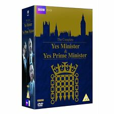 Yes Minister & Yes Prime Minister The Complete Collector's DVD Box Set 1980 R4