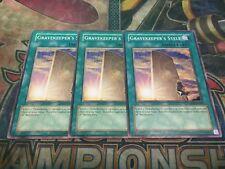 Yu-Gi-Oh Gravekeeper's Stele ABPF-EN056! Common!! X3!