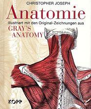 ANATOMIE - Illustriert aus Gray´s Anatomy - Christopher Joseph BUCH KOPP VERLAG