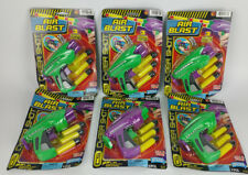 NEW Lot of 6 Air Blast Foam Toy Gun 3 Soft Darts Bullets Safe Party Grab Bag