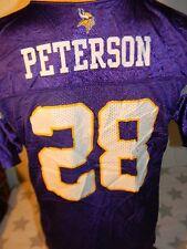 Minnesota Vikings football jersey youth xlarge kids child Adrian Peterson
