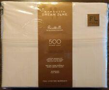 Wamsutta Dream Zone 500 Thread Count PimaCott Sheet Set ~ Full ~ Stone