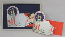 Vintage Dennison Gift Tags Gift Dressings Box w One Tag Circa 1930s