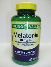 Spring Valley Melatonin 10mg Dietary Supplement - 120 Count