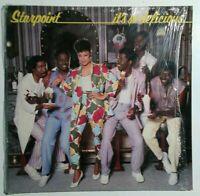 Starpoint It's So Delicious Vinyl Lp In Shrink 1983 Elektra Records