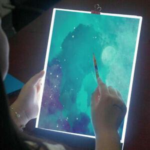 A4 LED Drawing Board Tracing Light Box Stencil Tattoo Copy Craft Table Artist