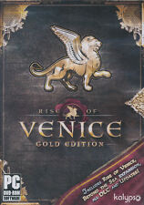 RISE OF VENICE Gold Edition + Beyond the Sea + DLC - Strategy PC Game - NEW