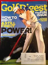 Golf Digest January 2011 Vol 62 #1 How to Rip It Fun Issue by Dustin Johnson