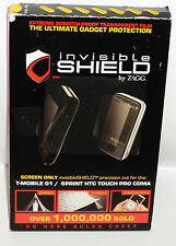 Invisible Shield By ZAGG Extreme Scratch Proof Transparent Shield Best Ever NIP