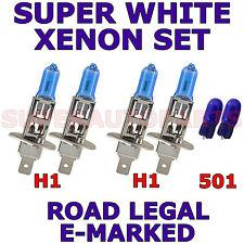 COMPATIBLE CON TOYOTA AVENSIS 2006-2007 SET H1 H1 501 XENON LIGHT BULBS