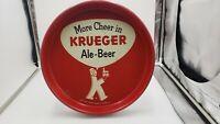 """Vintage Krueger Beer Ale Tray Newark New Jersey measures 12"""""""