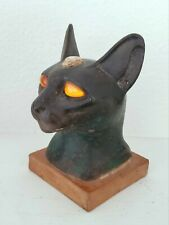 Antique Egyptian Bastet Cat God Statue Ny Carlsberg Glyptotek Museum Ra Isis