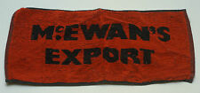 "McEwan's Export Beer Towel 17"" X 8"""