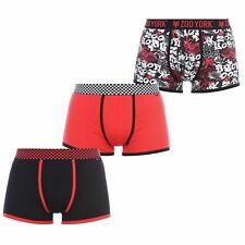 Zoo York 3pk HBoxer Mens Gents Underclothes Boxer