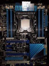ASUS P9X79 LGA 2011 Intel X79 SATA 6Gb/s USB 3.0 ATX Intel Motherboard With CPU!