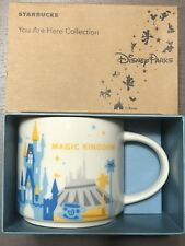 Disney Magic Kingdom Version 1 You Are Here (YAH) Starbucks Mug. NWT