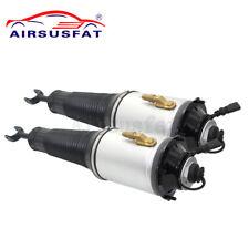 2PCS Front Air Suspension Shock Strut For Audi A8 D3 4E S8 4E0616039AF/6040AF