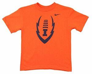 Nike NCAA Kids Illinois Fighting Illini Endzone Tee, Orange