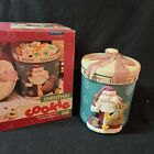 Joie De Ware Christmas Cookie Jar Happy Holidays Lifestyles Collection New Box