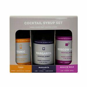 3pk 1oz Craft Cocktail Syrups - Assembly Brands LLC
