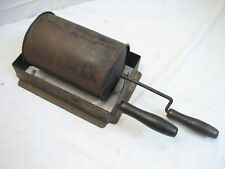 Antique Fireplace Stove Top Roasting Drum Nuts Popcorn Popper Coffee Bean Fire