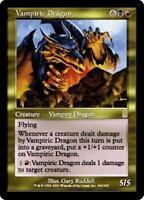 VAMPIRIC DRAGON Odyssey MTG Gold Creature — Vampire Dragon RARE