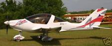 TL-2000 Sting Carbon Ultralight Airplane Desktop Wood Model Big New