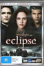 THE TWILIGHT SAGA-Eclipse-2 DVd Set-R4-BRAND NEW-Still Sealed