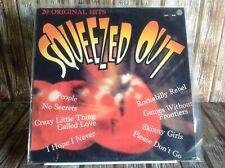 SQUEEZED OUT VARIOUS ARTIST LP RECORD ORIGINAL 80's EIGHTIES