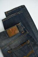 UVP 215 Nudie Grim Tim Org. Lovely Dust Herren W33/L34 Worn Look Jeans 4764 MM