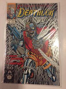 Deathlok #1 (Jul, 1991) Silver Ink Cover Dwayne McDuffie & Denys Cowan NM BMSL