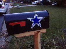 Dallas Cowboys Mailbox Decal (2 Pack) + Bonus Sticker