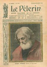 Tableau Guido Reni dit le Guide Saint Joseph San Giuseppe  1910 ILLUSTRATION