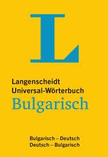 NEU: Langenscheidt Universal-Wörterbuch Bulgarisch-Deutsch | Deutsch-Bulgarisch