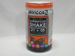 INVIGOR8 - Superfood Shake Triple Chocolate Brownie EXP2023